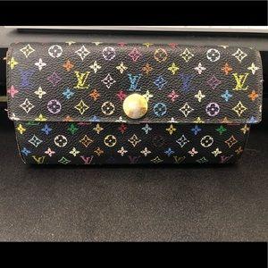 Louis Vuitton Multicolor Sarah Wallet